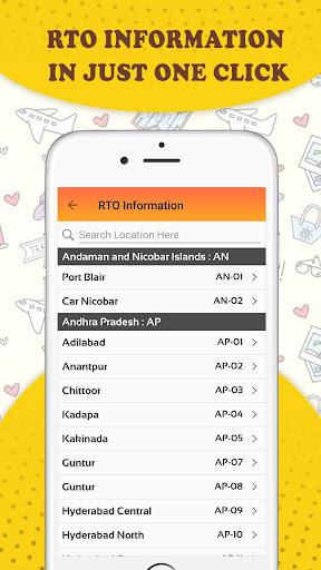 RTO Vehicle Information & Vehicle Price Check App screenshot 13