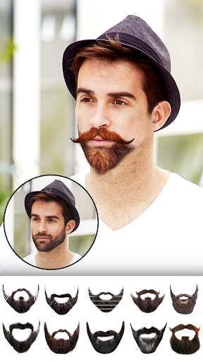Man Hair Style : New hair, mustache, beard styles screenshot 4