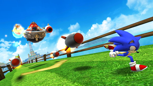 Sonic Dash - Endless Running & Racing Game screenshot 7