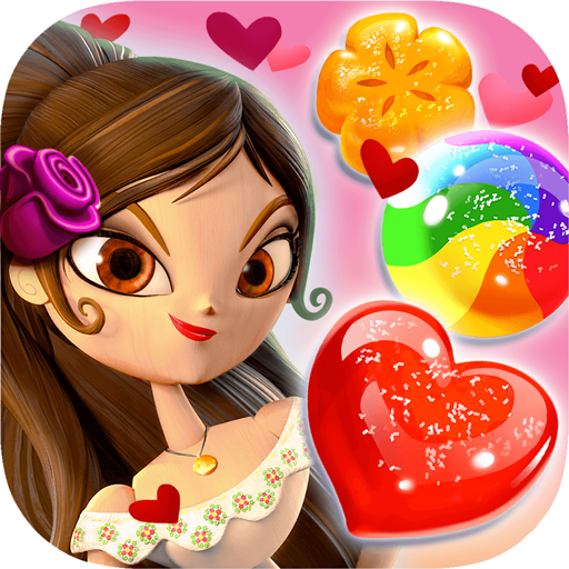 Sugar Smash: Book of Life - Free Match 3 Games. أيقونة