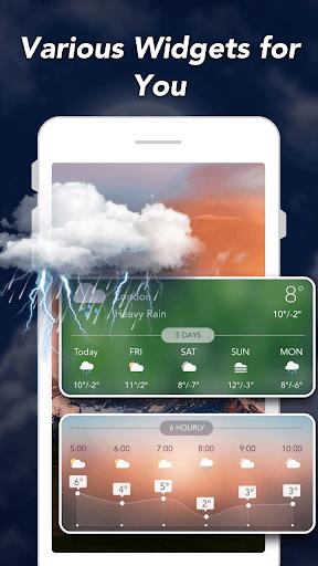توقعات الطقس والحاجيات والرادار 5 تصوير الشاشة