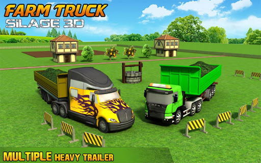 Farm Truck : Silage Game screenshot 15