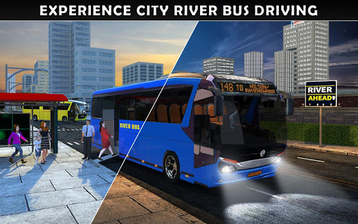 River Coach Bus Simulator Game screenshot 17