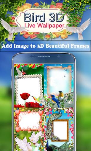 Birds 3D Live Wallpaper 3 تصوير الشاشة