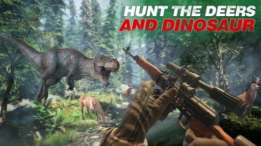 Wild Dino Shooting Adventure : Deer Hunting Games screenshot 6