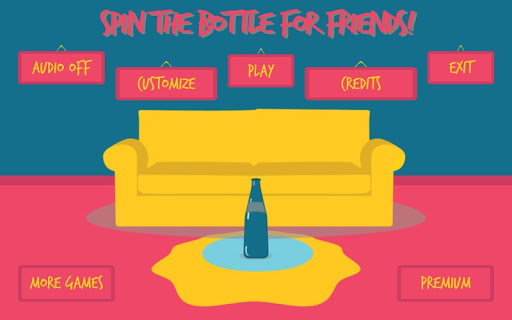 Spin the Bottle for Friends! screenshot 2