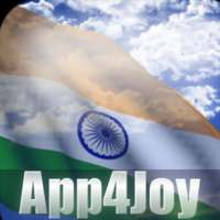 India Flag Live Wallpaper on 9Apps