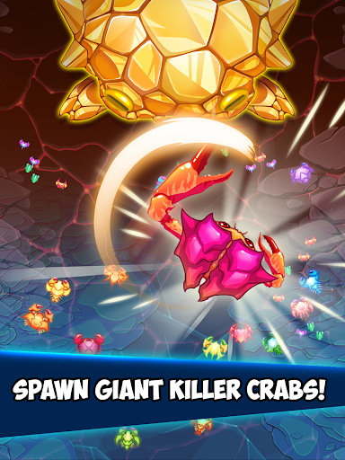 Crab War : Idle Swarm Evolution 17 تصوير الشاشة