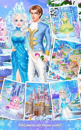 Princess Salon: Frozen Party screenshot 7