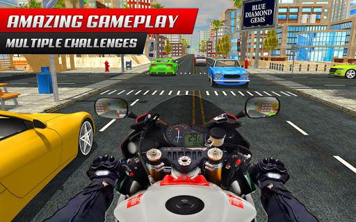 Highway Rider Bike Racing: Crazy Bike Traffic Race screenshot 1