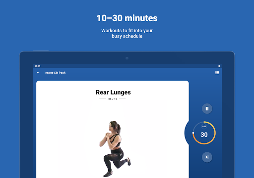 Fitify: Workout Routines & Training Plans screenshot 13