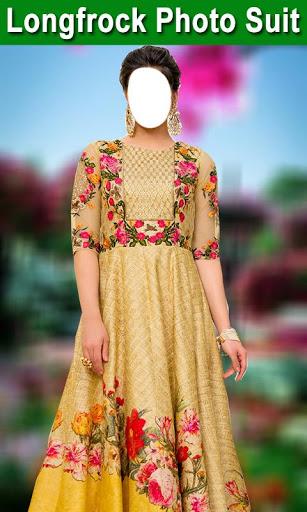 Longfrock Photo Suit for girls : Women long dress screenshot 5