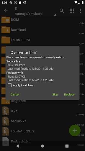 ZArchiver screenshot 3