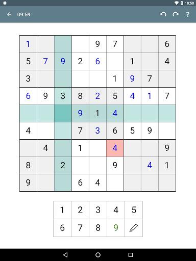 Sudoku screenshot 22