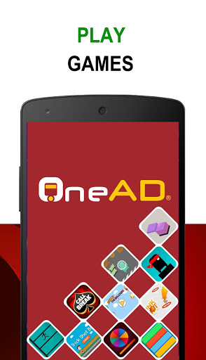 OneAD - Play Games! screenshot 1