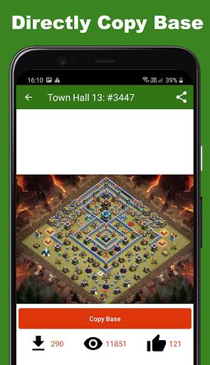 Maps of Clash of Clans 2021 1 تصوير الشاشة