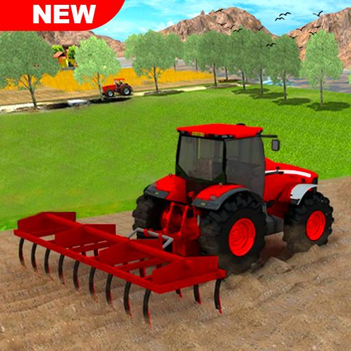 Tractor Farming 2020: ألعاب الزراعة المجانية 2020 أيقونة