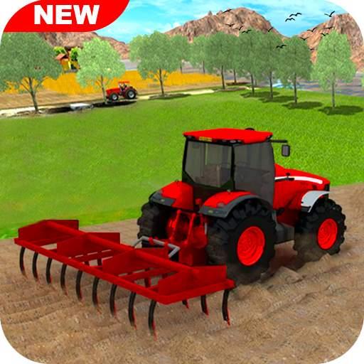 New Tractor Farming 2021: Free Farming Games Sim