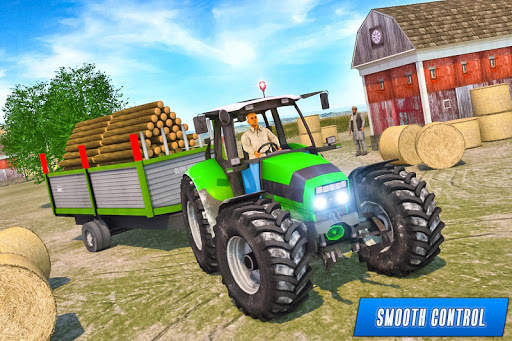 Drive Tractor trolley Offroad Cargo- Free 3D Games screenshot 7