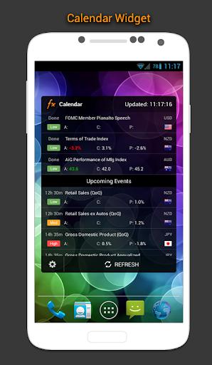 Calendário Forex e Mercado screenshot 2