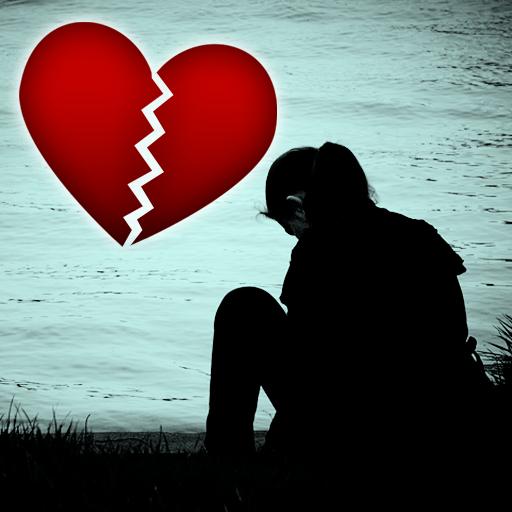 Sad & Broken Heart Pain Status icon
