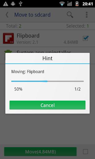 Move app to SD card screenshot 2