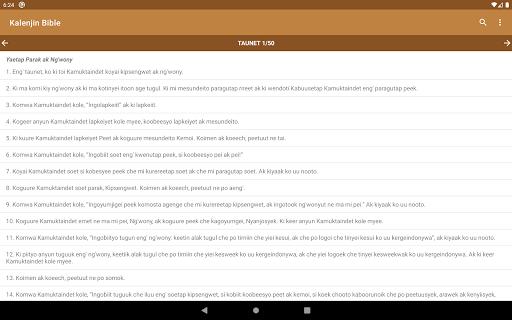 Kalenjin Bible - Old and New Testament 11 تصوير الشاشة