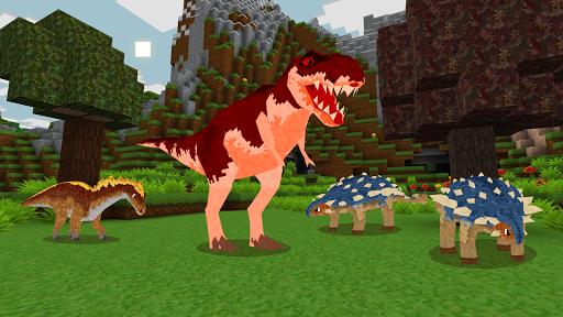 JurassicCraft: Free Block Build & Survival Craft screenshot 2