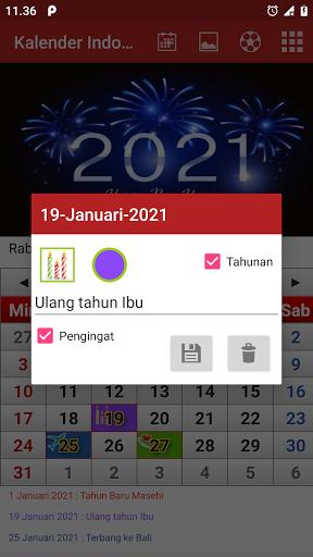 Kalender Indonesia screenshot 2