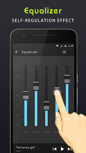 Equaliser musik & Penguat bass screenshot 5