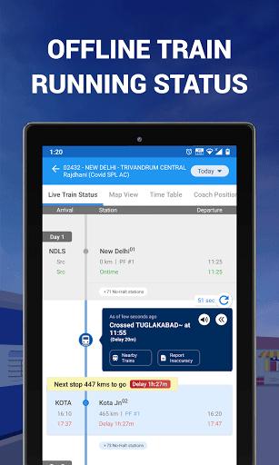 IRCTC Ticket, Train Status, Railway App: RailYatri screenshot 11
