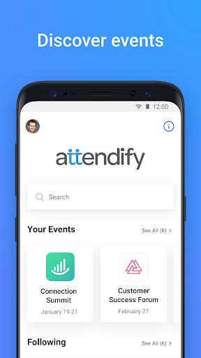 Attendify screenshot 1