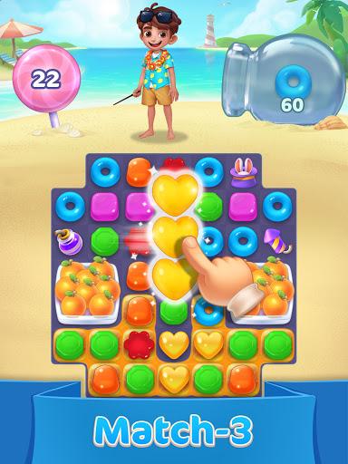 Jellipop Match-Decorate your dream island! screenshot 7