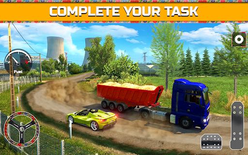 PK Cargo Truck Transport Game 2018 screenshot 2