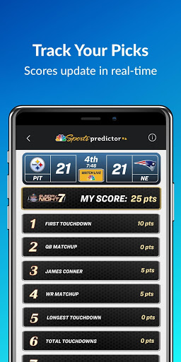 NBC Sports Predictor screenshot 5
