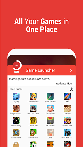 Game Booster | Play Games Faster & Smoother 7 تصوير الشاشة