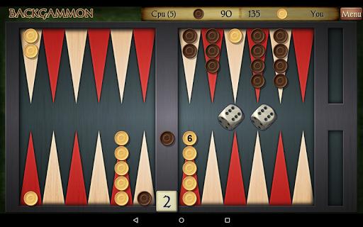 Backgammon Free 19 تصوير الشاشة
