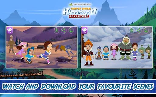 ChhotaBheem HimalayanAdventure 5 تصوير الشاشة