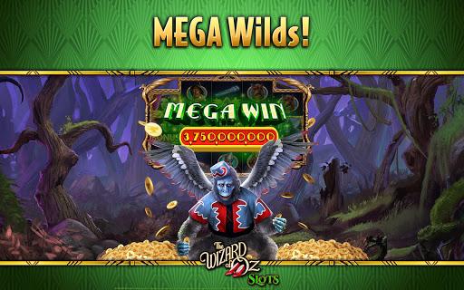 Wizard of OZ Free Slots Casino Games 8 تصوير الشاشة