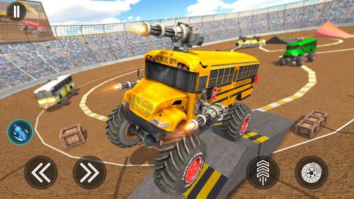Monster Bus Derby : Bus Demolition Derby 2021 screenshot 4