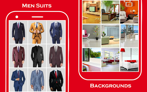 Men suit photo editor 5 تصوير الشاشة
