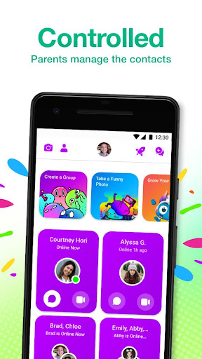 Messenger Kids – The Messaging App for Kids screenshot 2