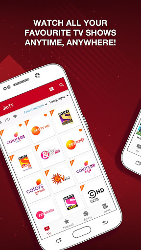 JioTV – News, Movies, Entertainment, LIVE TV 2 تصوير الشاشة
