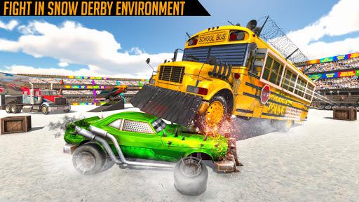 Monster Bus Derby : Bus Demolition Derby 2021 screenshot 2