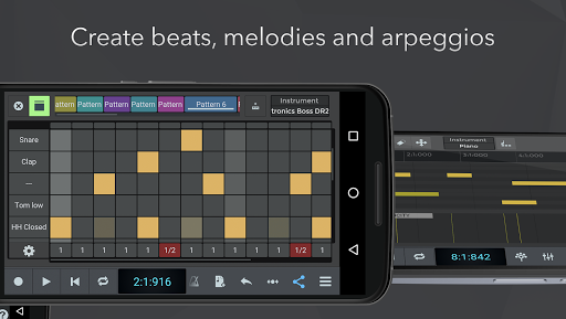 n-Track Studio DAW Beat Maker, Record Audio, Drums screenshot 5
