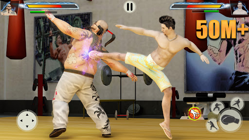 GYM Fighting Games: Bodybuilder Trainer Fight PRO screenshot 1