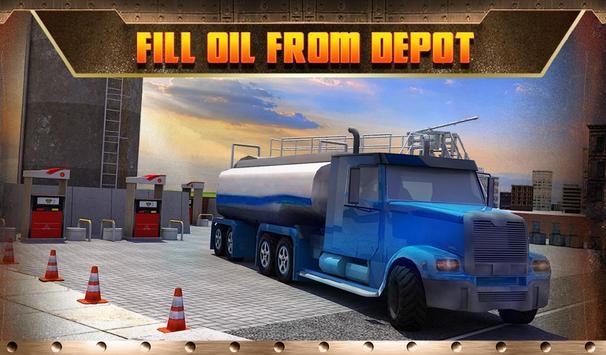 Oil Transport Truck 2016 screenshot 14