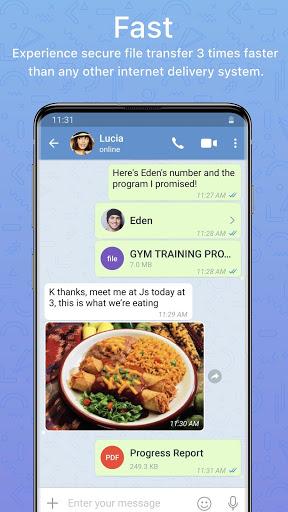 Zangi Messenger screenshot 5