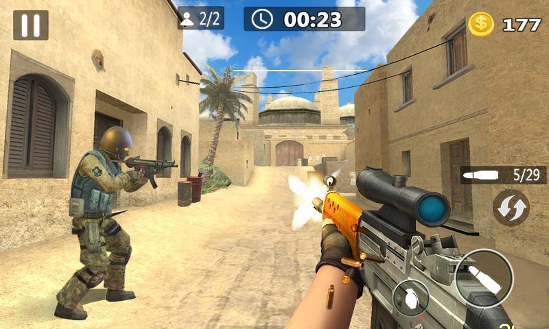 Critical Strike Shoot Battleground 2 تصوير الشاشة