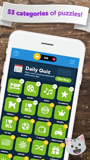 Crossword Quiz - Crossword Puzzle Word Game! 3 تصوير الشاشة
